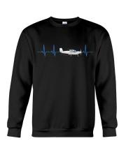 PILOT GIFTS - HEARTBEAT Crewneck Sweatshirt thumbnail