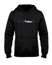 PILOT GIFTS - HEARTBEAT Hooded Sweatshirt thumbnail