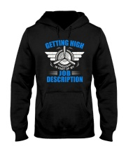 AVIATION PILOT GIFT - GETTING HIGH Hooded Sweatshirt thumbnail