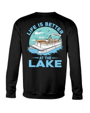 PONTOON BOAT GIFT - LIFE IS BETTER AT THE LAKE 2 Crewneck Sweatshirt thumbnail