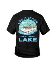 PONTOON BOAT GIFT - LIFE IS BETTER AT THE LAKE 2 Youth T-Shirt thumbnail