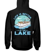 PONTOON BOAT GIFT - LIFE IS BETTER AT THE LAKE 2 Hooded Sweatshirt thumbnail