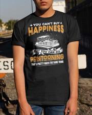 PONTOON BOAT GIFT - I'M PONTOONING Classic T-Shirt apparel-classic-tshirt-lifestyle-29