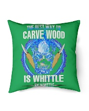 "POTTERY GIFTS - WHITTLE Indoor Pillow - 16"" x 16"" thumbnail"