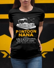 PONTOON BOAT GIFT - PONTOON NANA DEFINITION Ladies T-Shirt apparel-ladies-t-shirt-lifestyle-04