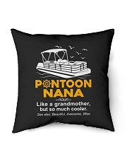 "PONTOON BOAT GIFT - PONTOON NANA DEFINITION Indoor Pillow - 16"" x 16"" thumbnail"