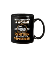 PONTOON BOAT GIFT - SEPTEMBER PONTOON WOMAN Mug thumbnail