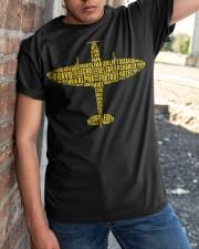 PILOT GIFTS - THE SPIRITFIRE ALPHABET Classic T-Shirt apparel-classic-tshirt-lifestyle-27