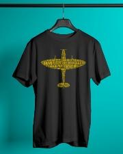 PILOT GIFTS - THE SPIRITFIRE ALPHABET Classic T-Shirt lifestyle-mens-crewneck-front-3