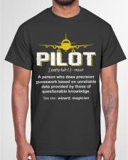 PILOT GIFTS - PILOT DEFINITION Classic T-Shirt garment-tshirt-unisex-front-03