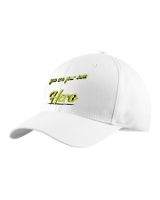 you are your own hero Classic Hat left-angle