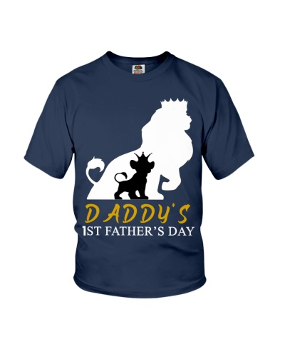 DADDY'S  1ST FATHER'S DAY GIFTS T-SHIRT