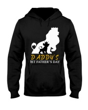 DADDY'S  1ST FATHER'S DAY GIFTS T-SHIRT Hooded Sweatshirt thumbnail