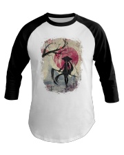 Lady Samurai Baseball Tee tile