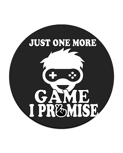 Just One More Game I Promise - Funny Gaming tee