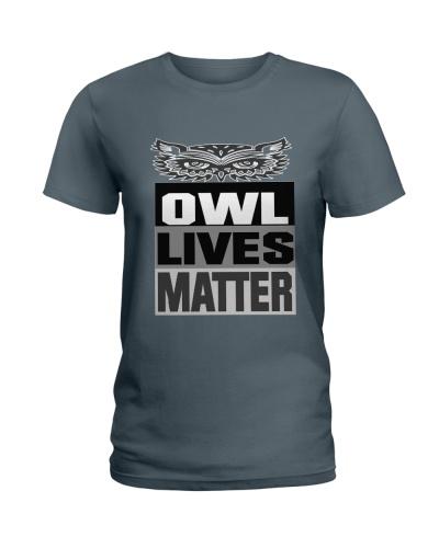 OWL LIVES MATTER T SHIRT