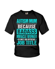 APPAREL AUTISM MOM Youth T-Shirt thumbnail