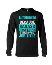 APPAREL AUTISM MOM Long Sleeve Tee thumbnail