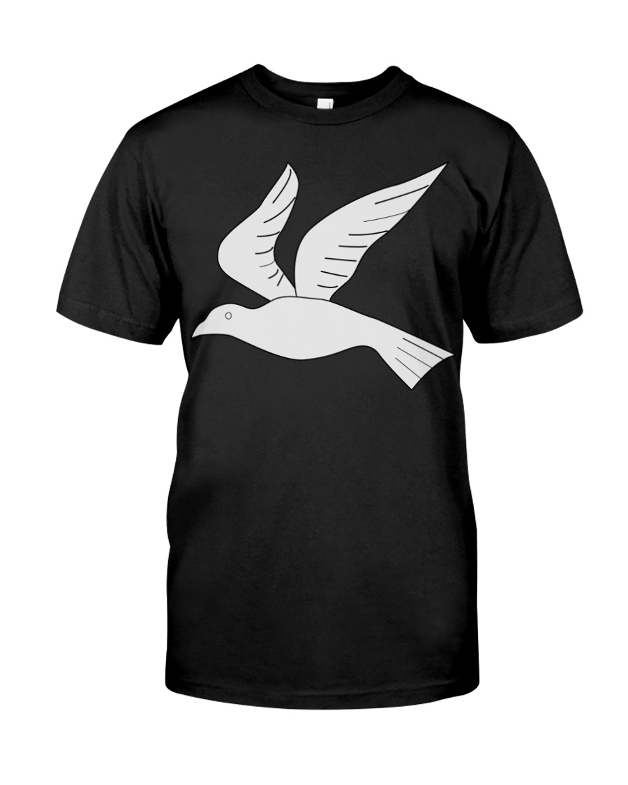 Dove 2 Goat Shirt Farmer Shirt Classic T-Shirt