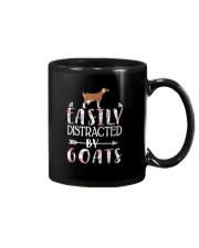 Easily Distracted By Goats Shirt Farmer Goat Gifts Mug tile