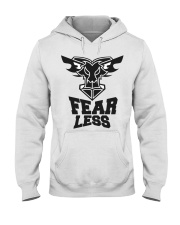 Fear Less Black Goat Shirt Farmer Shirt Goat Shirt Hooded Sweatshirt thumbnail