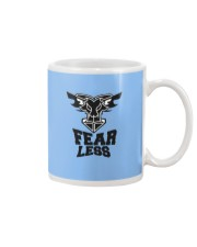 Fear Less Black Goat Shirt Farmer Shirt Goat Shirt Mug thumbnail