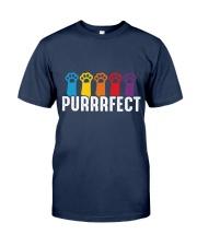 Purrrfect Cat Paw T-shirt Classic T-Shirt thumbnail