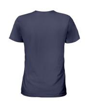 Purrrfect Cat Paw T-shirt Ladies T-Shirt back