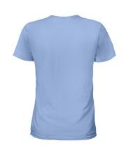 Cat Posing Back Funny T-shirt Ladies T-Shirt back