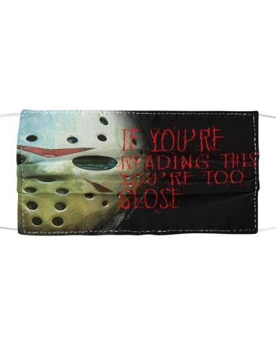 Jason Too Close Face Mask
