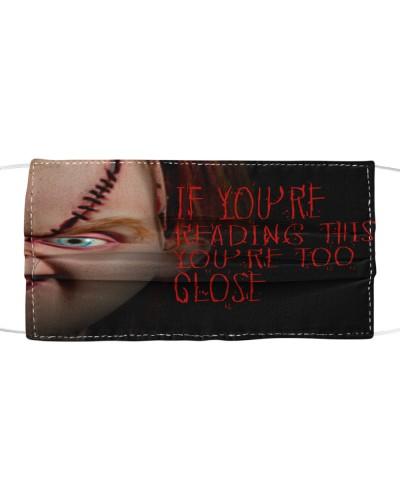 Chucky Too Close Face Mask