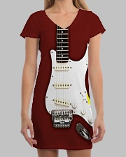 Guitar Dress 0001 All-over Dress aos-dress-front-lifestyle-3