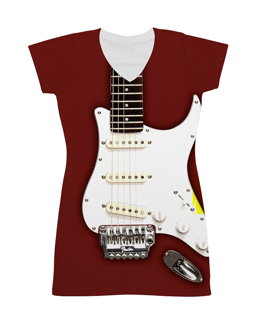 Guitar Dress 0001 All-over Dress