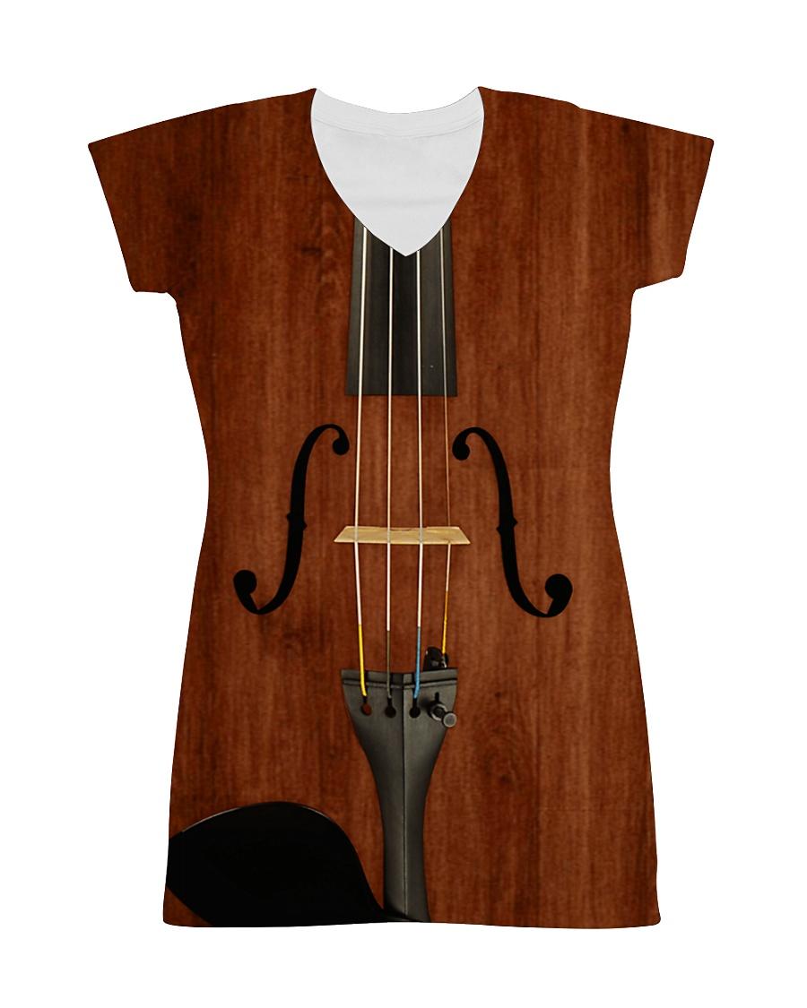 Violin Dress 0002 All-over Dress