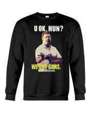 We Got Guns Crewneck Sweatshirt thumbnail