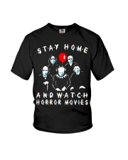 Stay Home And Watch HM Youth T-Shirt thumbnail