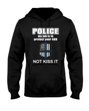 Blue Lives Matter Hooded Sweatshirt thumbnail