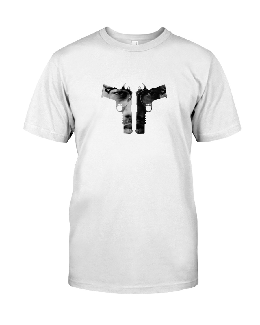 GUNS DOWN - MALCOLM X Classic T-Shirt