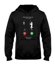 J ETAIS SUR MON AUTRE LINGNE Hooded Sweatshirt thumbnail