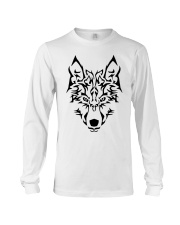 Wolf art Long Sleeve Tee front