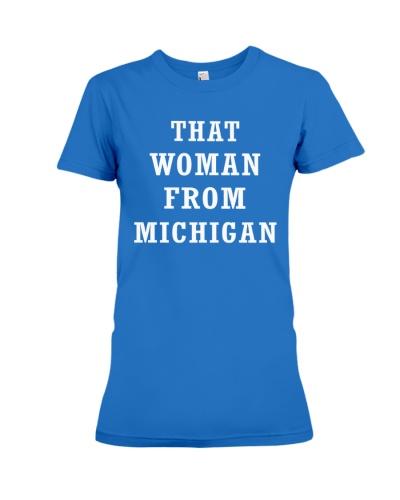 that woman from michigan shirt