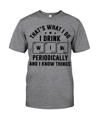 Gift For Drink Wine Periodically