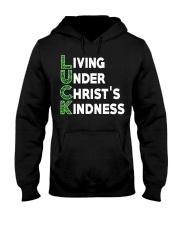 LIVING UNDER CHRIST'S KINDNESS Hooded Sweatshirt tile