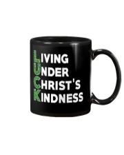LIVING UNDER CHRIST'S KINDNESS Mug tile