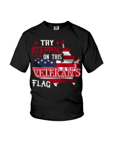 Try Stepping On This Veterans Flag