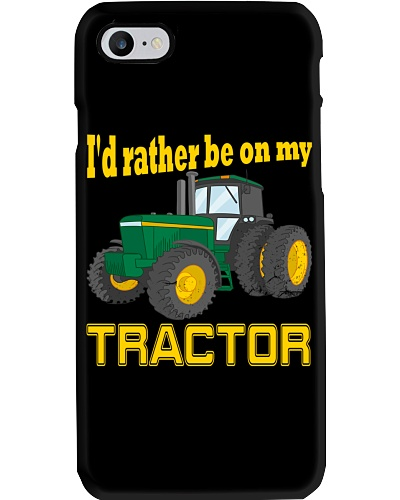 I'D RATHER BE ON MY TRACTOR