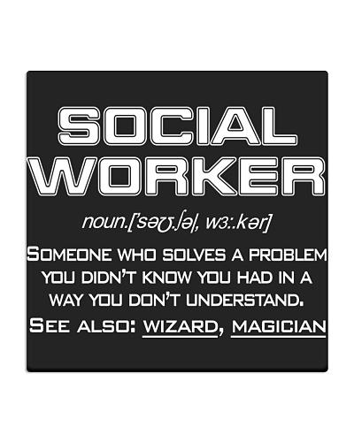 SOCIAL WORKER NOUN