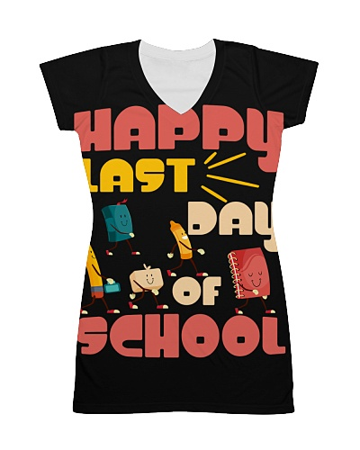 Happy Last Day of School Students and Teacher