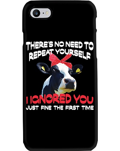 There's No Need To Repeat Yourself - Cows
