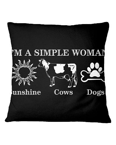I'm A Simple Woman Sunshine Cows and Dogs